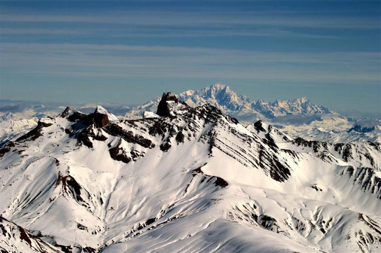 Photo des Alpes - Mont Blanc et Aiguilles d'Arves - © Lionel Caracci Krom Galerie