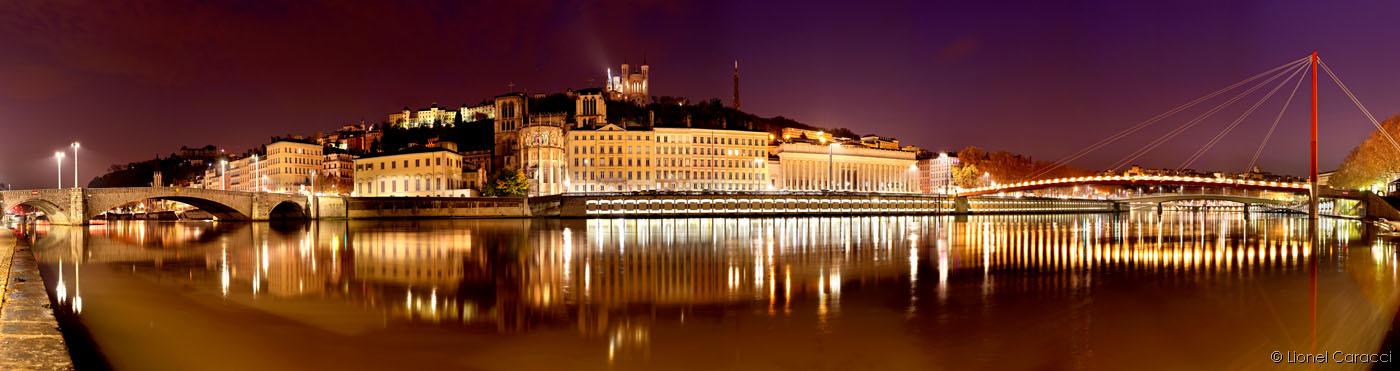Aube sur Quais de Saône