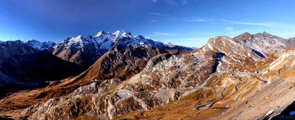 Photo des Alpes - Meije et Col du Galibier - © Lionel Caracci Krom Galerie