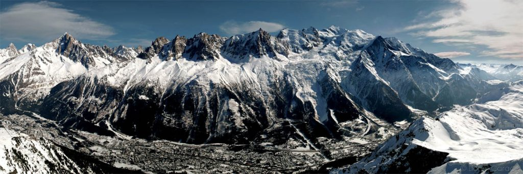 Photo des Alpes - Chamonix Mont Blanc - © Lionel Caracci Krom Galerie