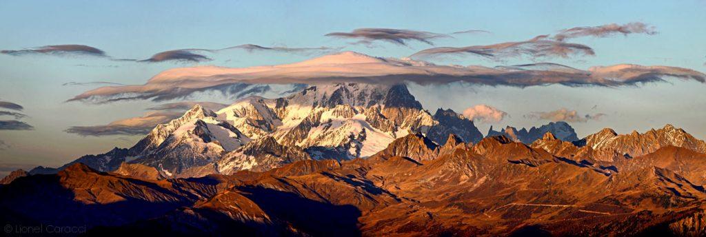 Photo des Alpes - Mont Blanc - © Lionel Caracci Krom Galerie