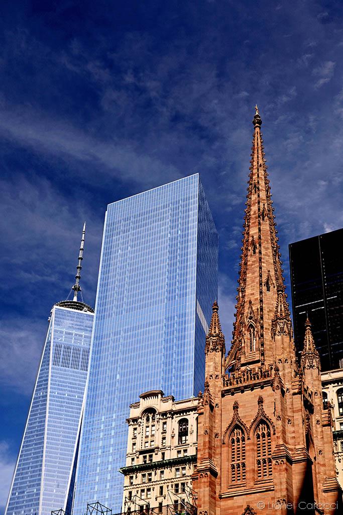Photo de paysage urbain - New-York City, World Trade Center - © Lionel Caracci Krom Galerie