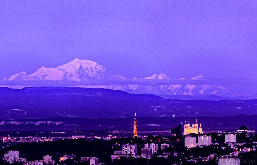 Fourvière vs Mont Blanc