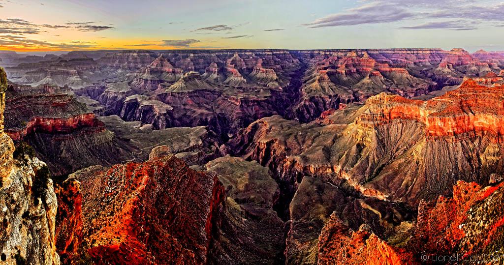 Photo de paysage nature - Ouest Américain, Grand Canyon - © Lionel Caracci Krom Galerie