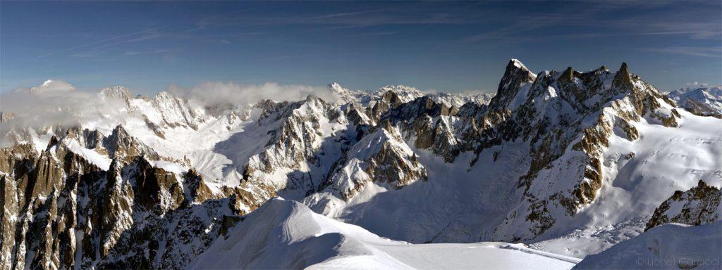 Photo des Alpes - Massif du Mont Blanc - © Lionel Caracci Krom Galerie