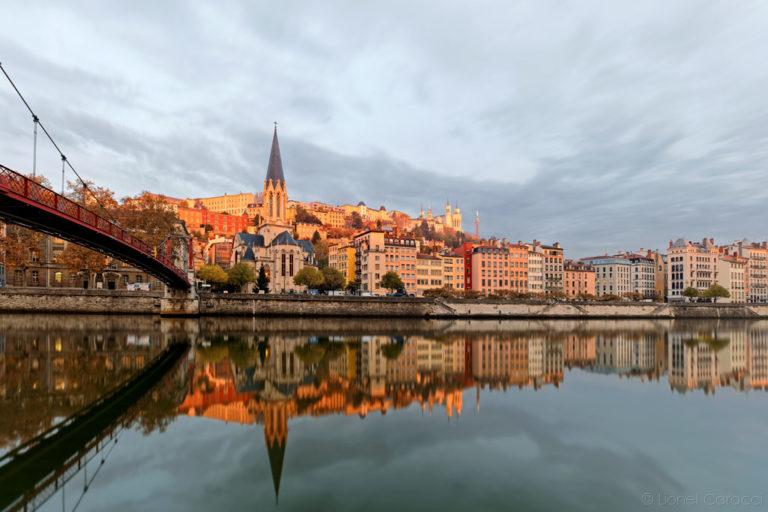 Photo Lyon Jour - Quais de Saône - © Lionel Caracci Krom Galerie