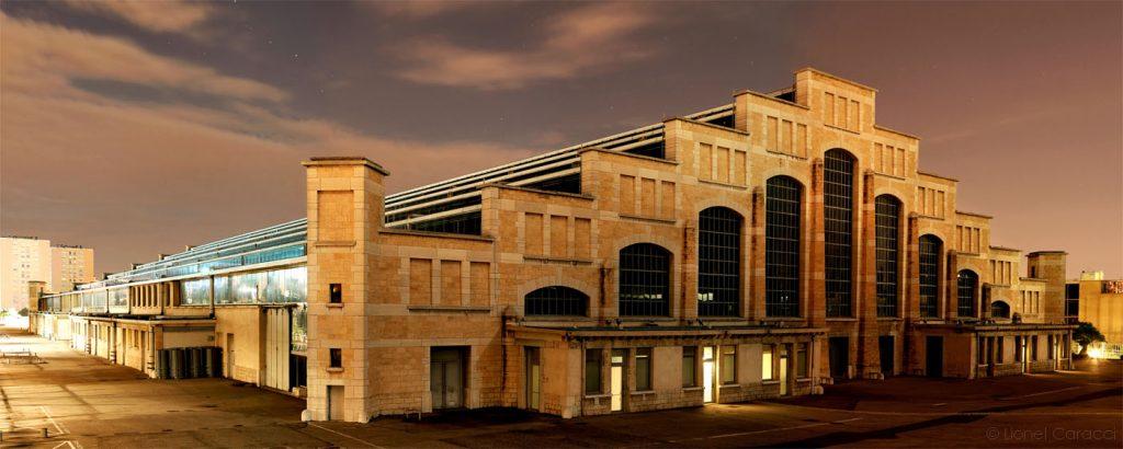 Photo Lyon Nuit - Halle Tony Garnier - © Lionel Caracci Krom Galerie