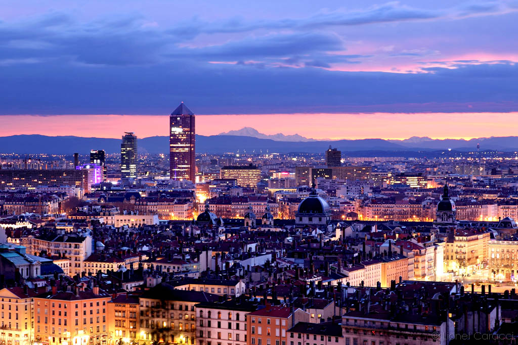 Lyon Mont Blanc
