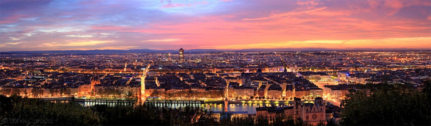 Lyon à l'Aube