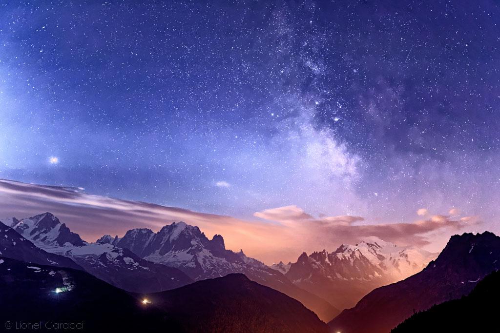 Mars sur Mont-Blanc