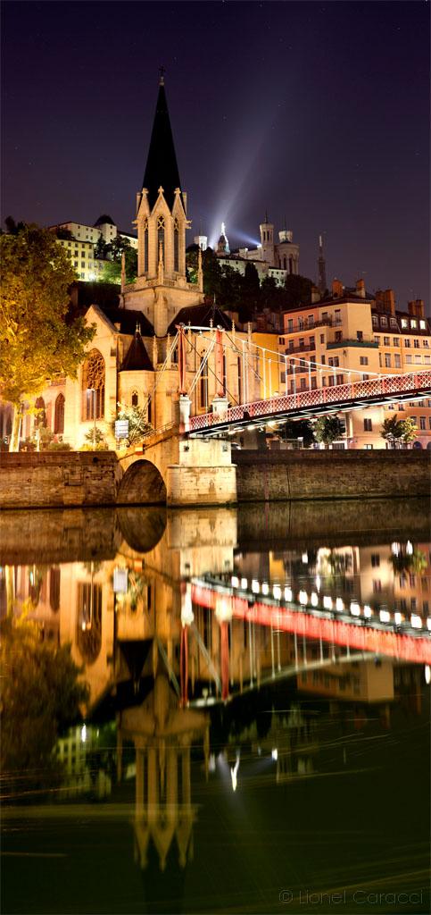 Reflet sur Saint-Georges