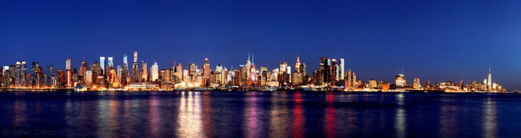 Photo de paysage urbain - New-York City - © Lionel Caracci Krom Galerie