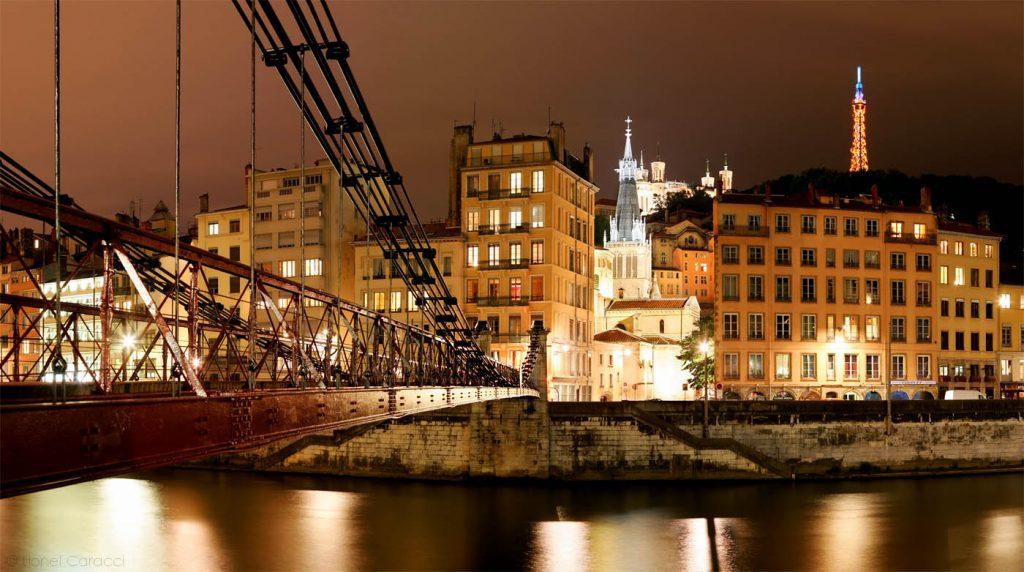 Photo Lyon Nuit - Saint Paul - © Lionel Caracci Krom Galerie
