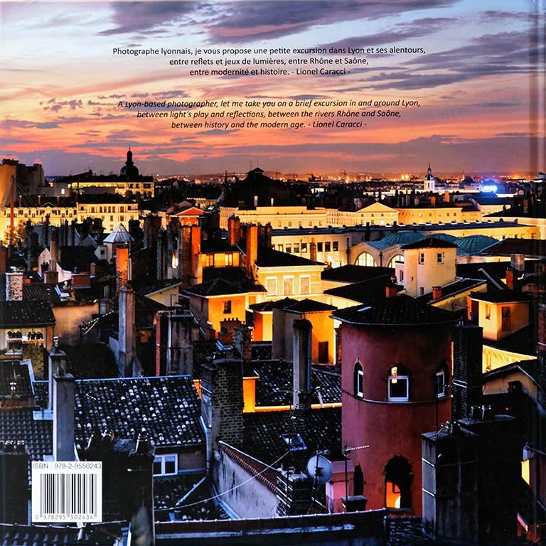Livre de photos de Lyon - vol 1, couverture verso © Lionel Caracci