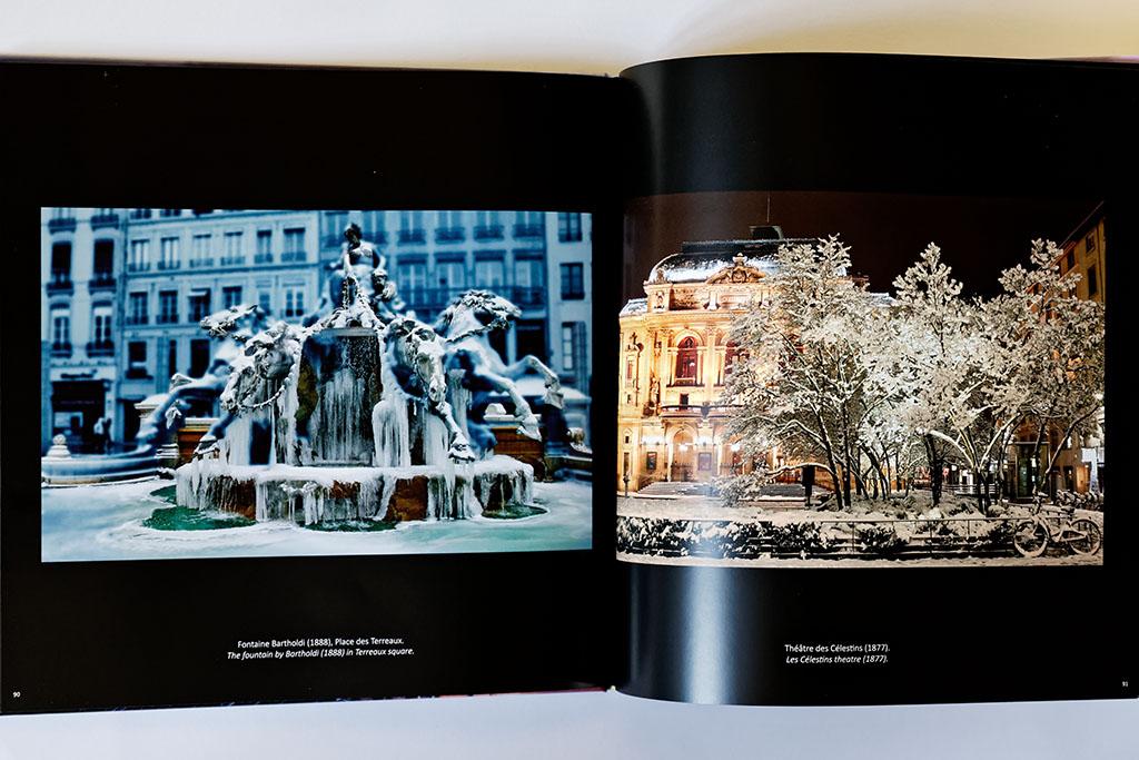 Intérieur du livre de photos de Lyon - vol 1, exemple 01