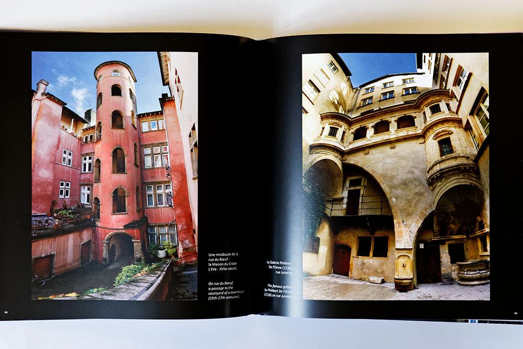 Intérieur du livre de photos de Lyon - vol 1, exemple 02