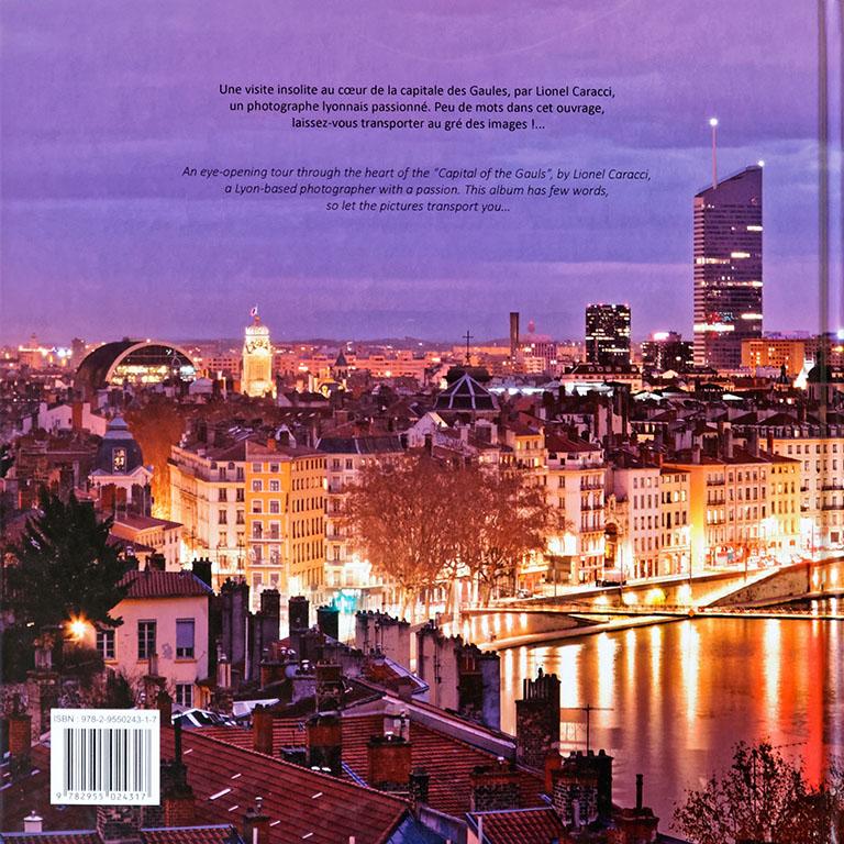 Livre de photos de Lyon - vol 2, couverture verso © Lionel Caracci