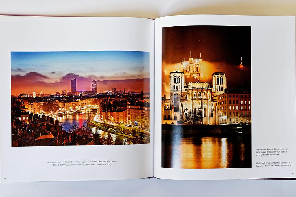 Intérieur du livre de photos de Lyon - vol 2, exemple 02