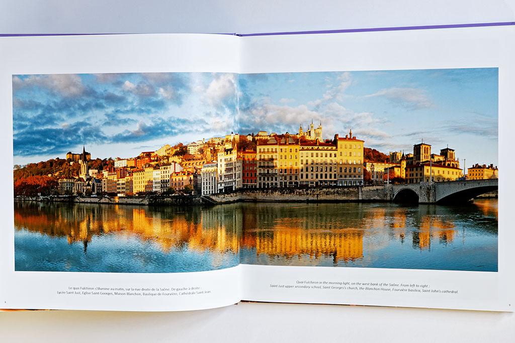 Intérieur du livre de photos de Lyon - vol 2, exemple 03