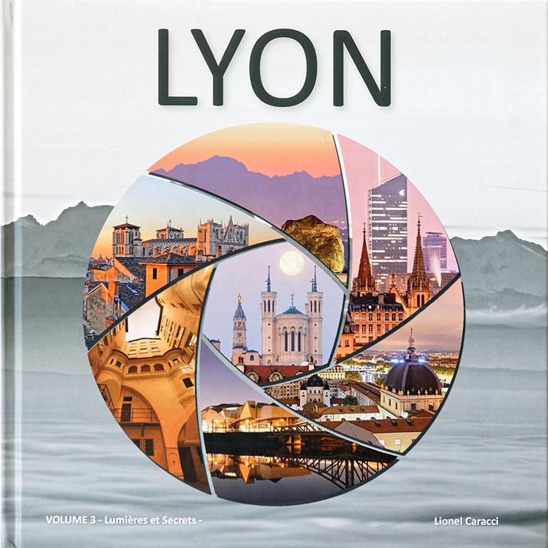 Livre de photos de Lyon - vol 3, couverture recto © Lionel Caracci