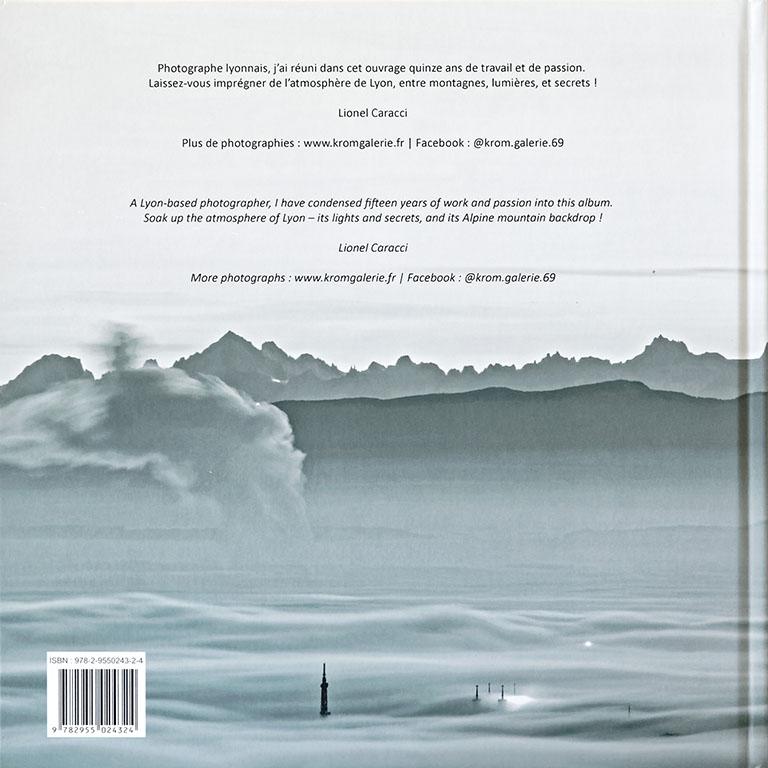 Livre de photos de Lyon - vol 3, couverture verso © Lionel Caracci