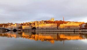 Reflet sur Quais de Saône