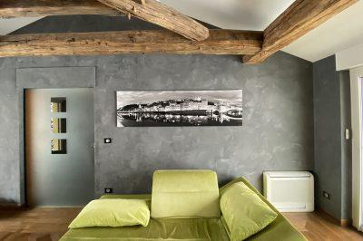 Photo d'art de Lyon noir et blanc, chez un client - photos Lyon galerie Krom