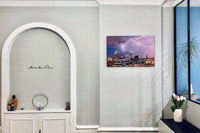 Photo d'art de Lyon, chez un client - photos Lyon galerie Krom